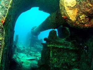 Wreck Cristobal Colon