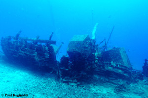 Port Side View Wreck of Our Confidence